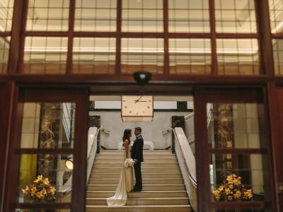 Elegant East London Wedding at Eight Club Moorgate