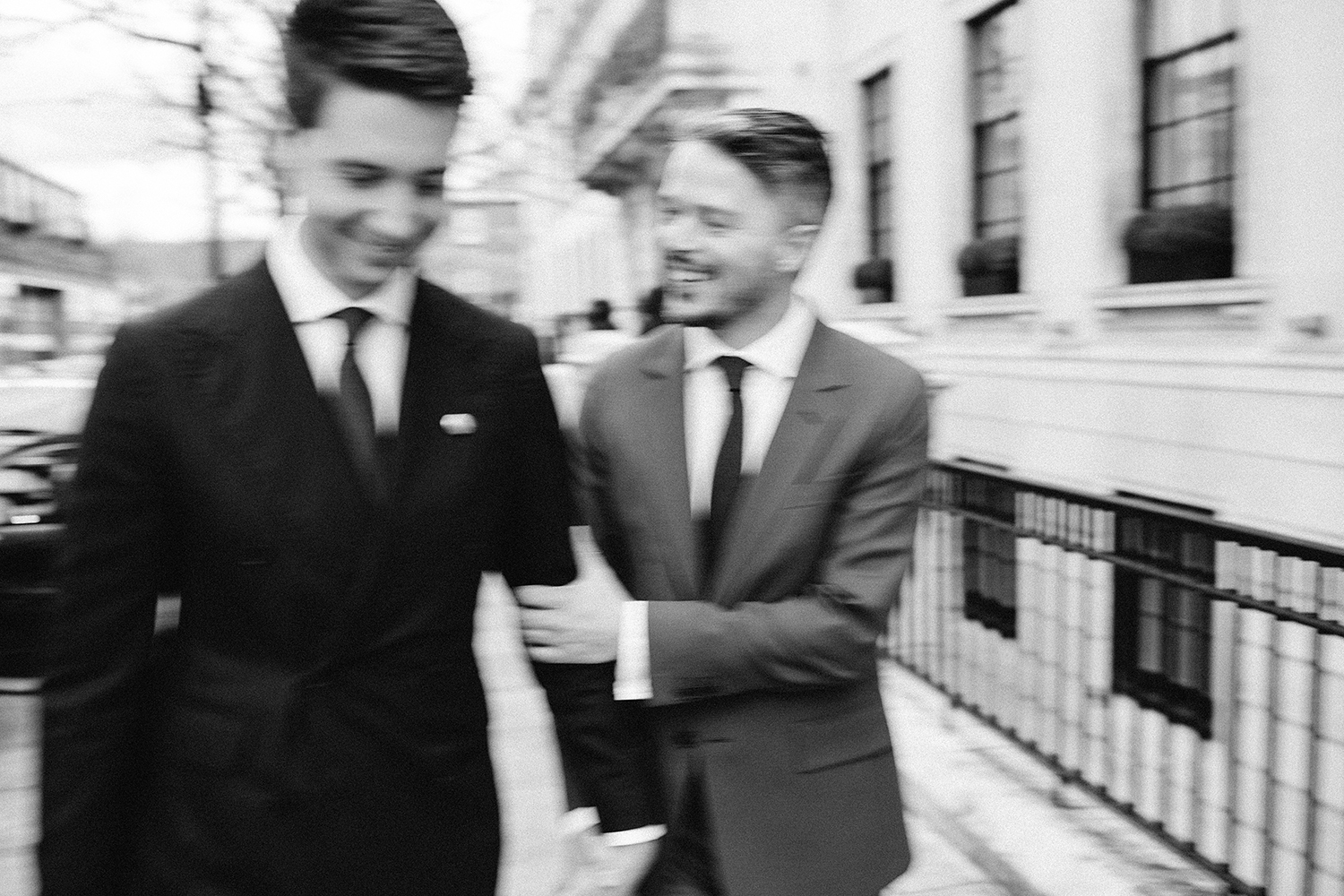 Same sex city wedding