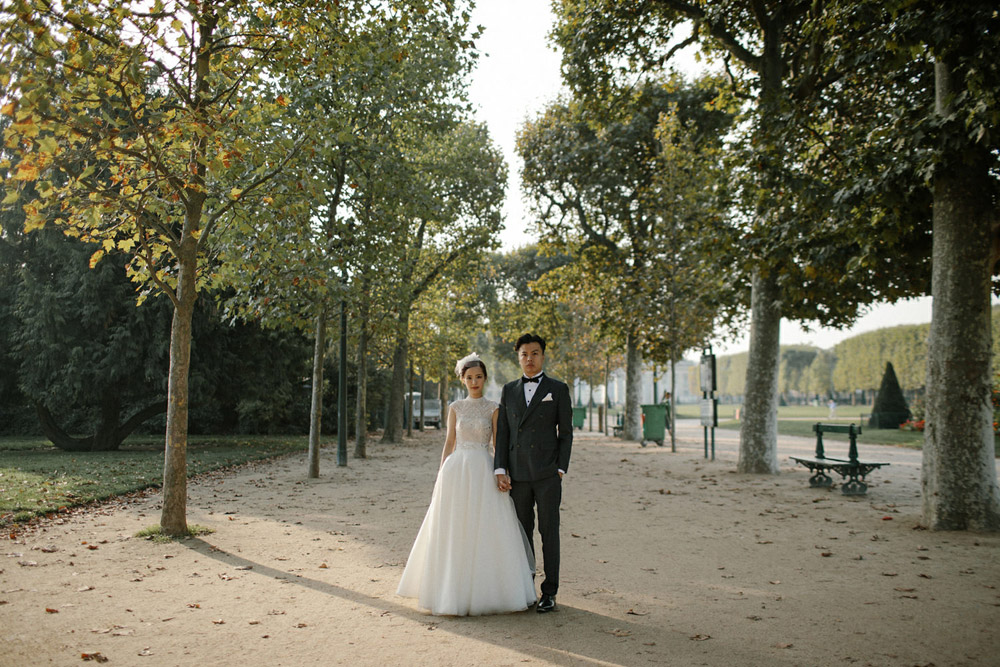 luxe parisian wedding