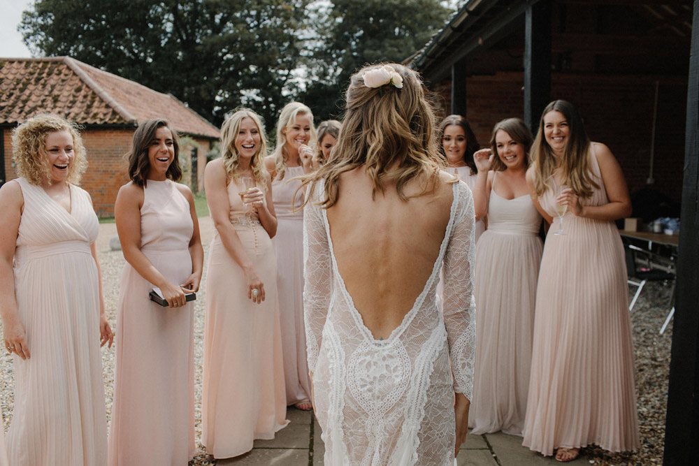 Here Are Some Frames From This Modern Boho Wedding In Suffolk