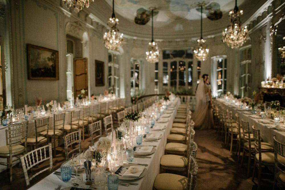 elegant wedding at the Savile Club in London