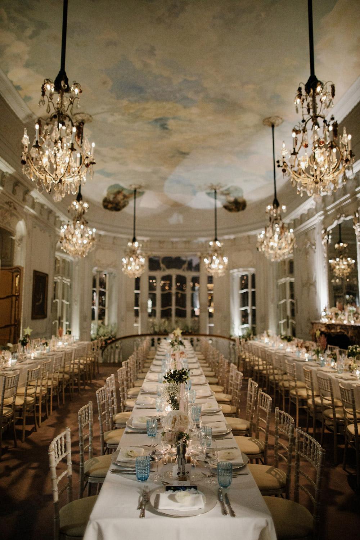 luxury wedding at the Savile Club