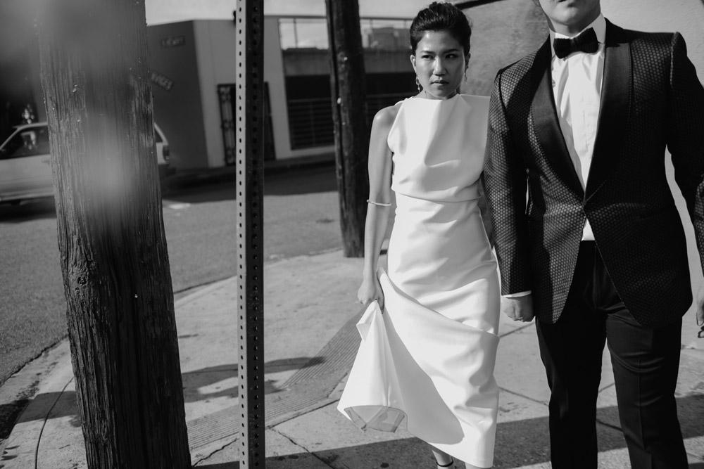 understated luxury wedding in Los Angeles