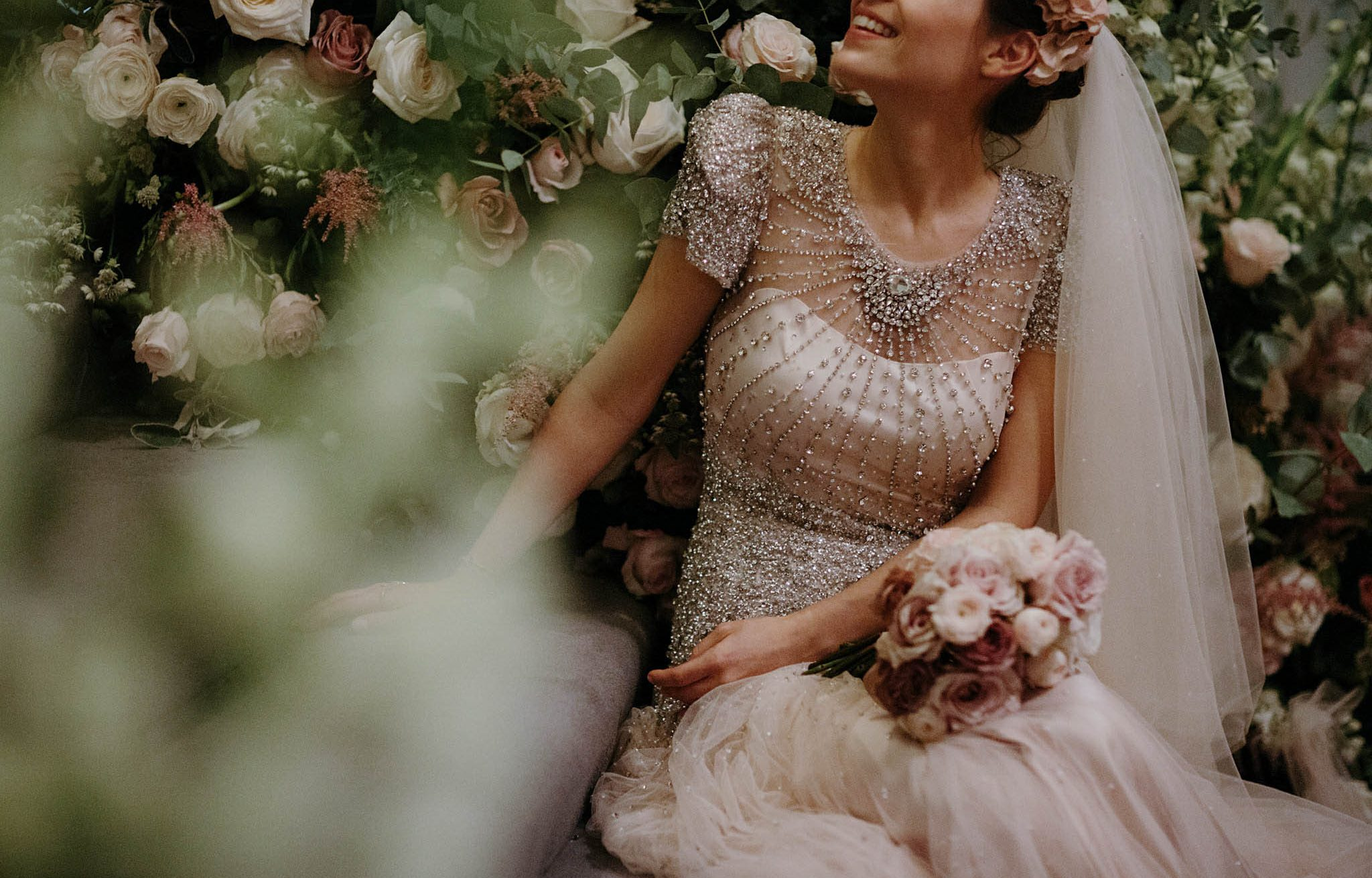 detailed wedding dress by jenny packham