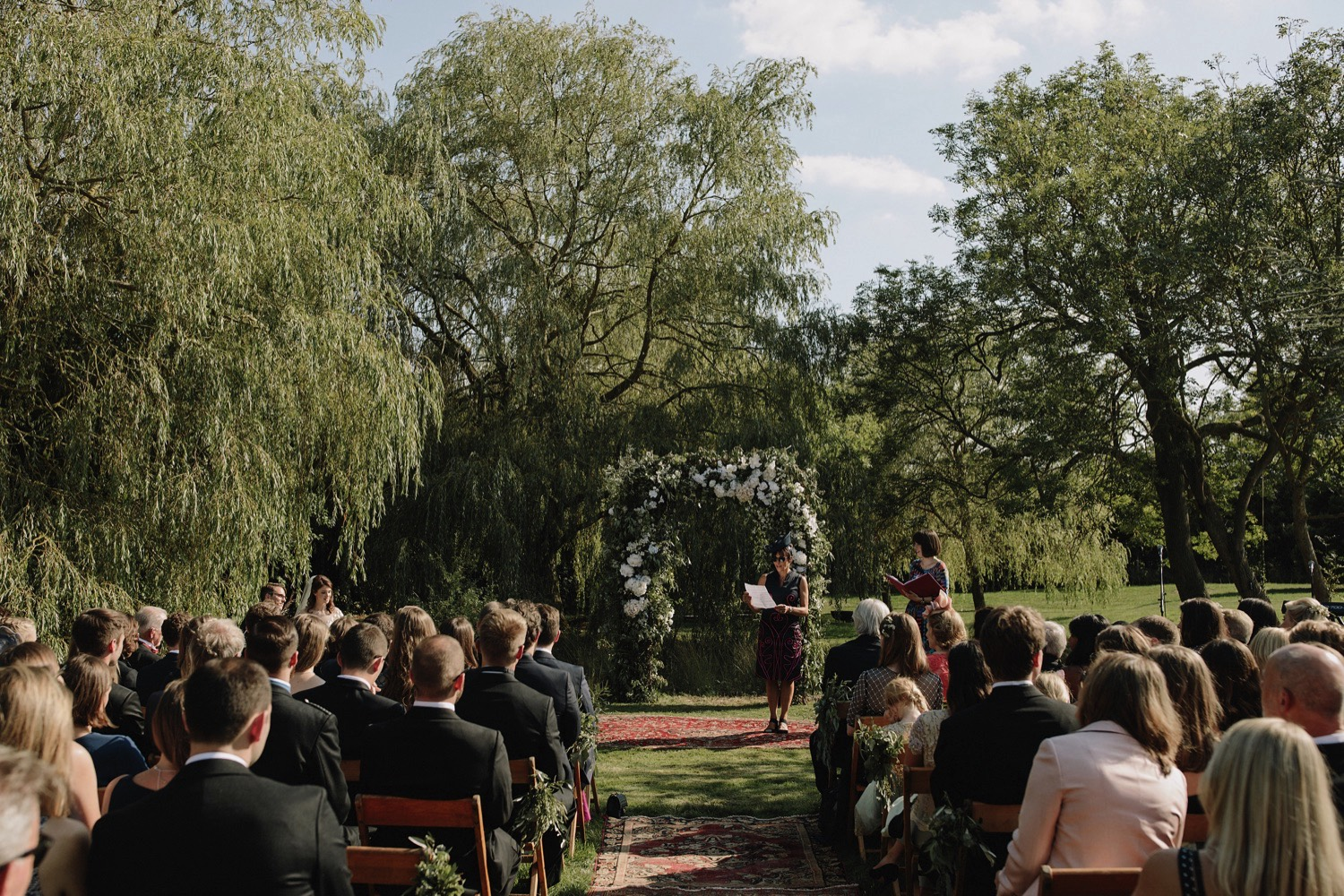 wedding outdoor ceremony