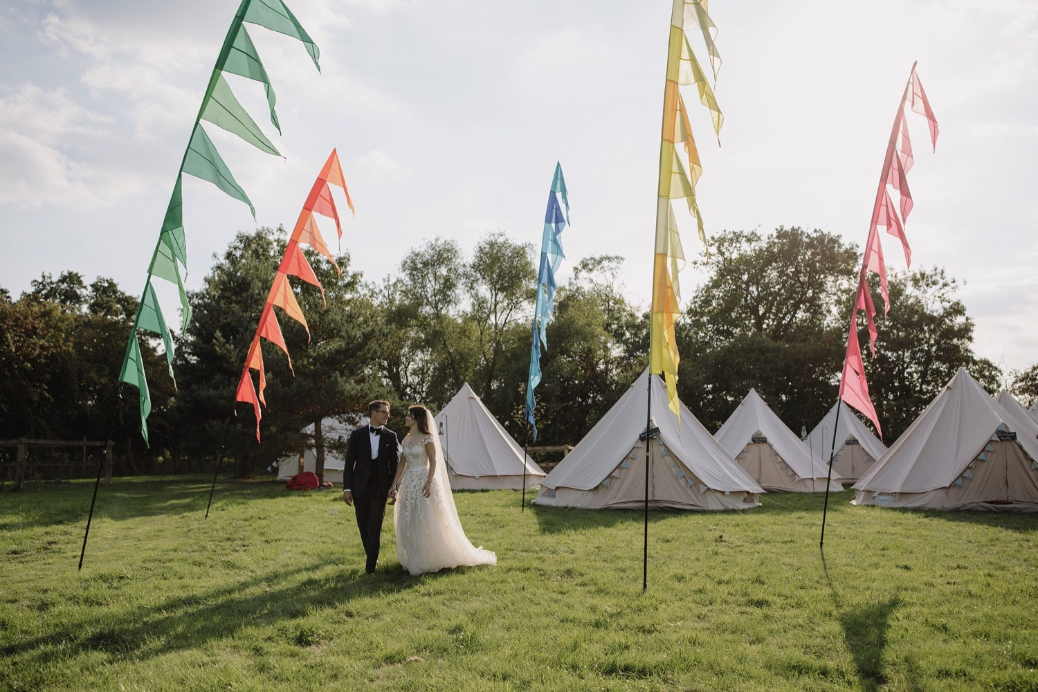 elegant festival wedding