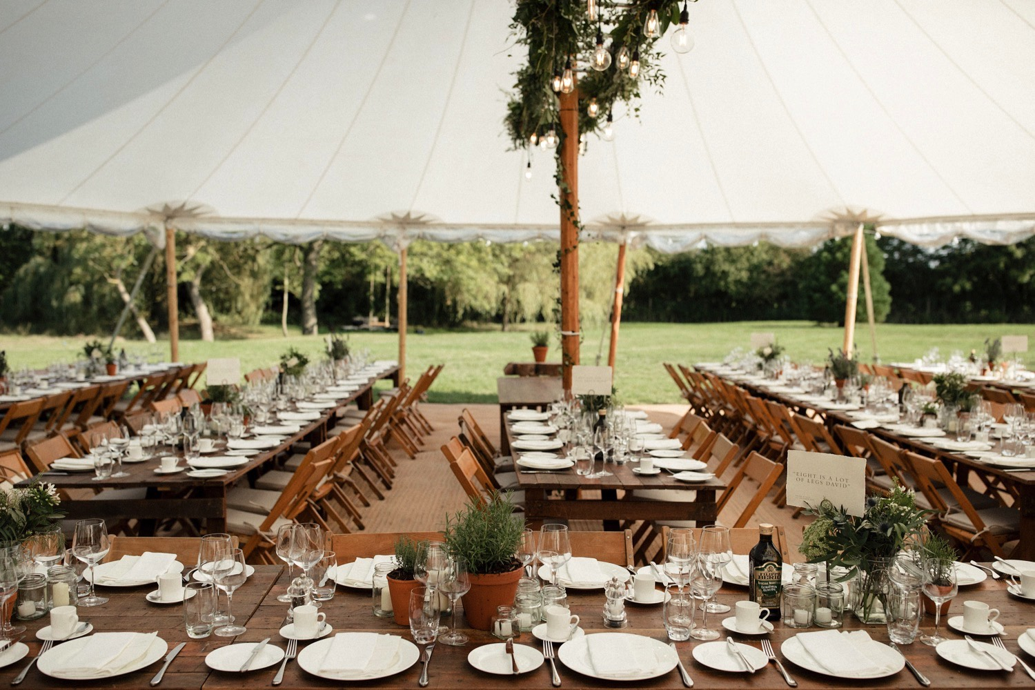 refined rustic wedding table decor